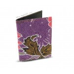 Batik Card Case Holder